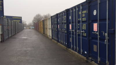 Location Container 10m² à Evry (91000) <br> <br>